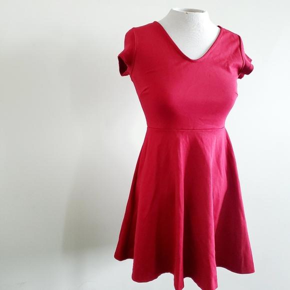 👗 4 for 20 ROLLA COASTER red skater dress
